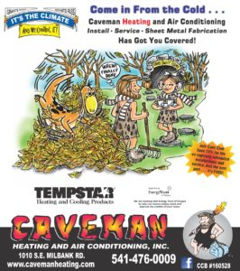 caveman heating and air conditioning inc newspaper and print
